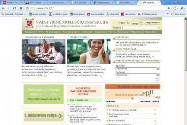 VMI pajamų deklaracijas šiemet paruoš vėliau