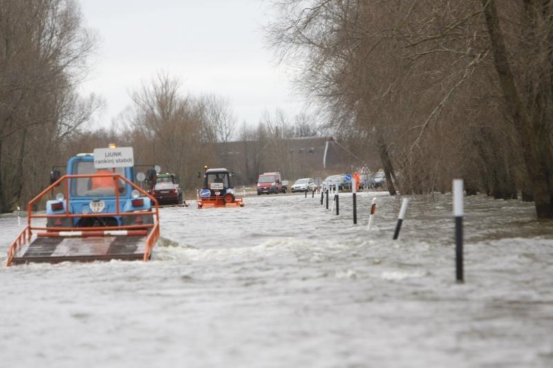Meteorologai kitos savaitės pradžioje prognozuoja potvynį (papildyta)