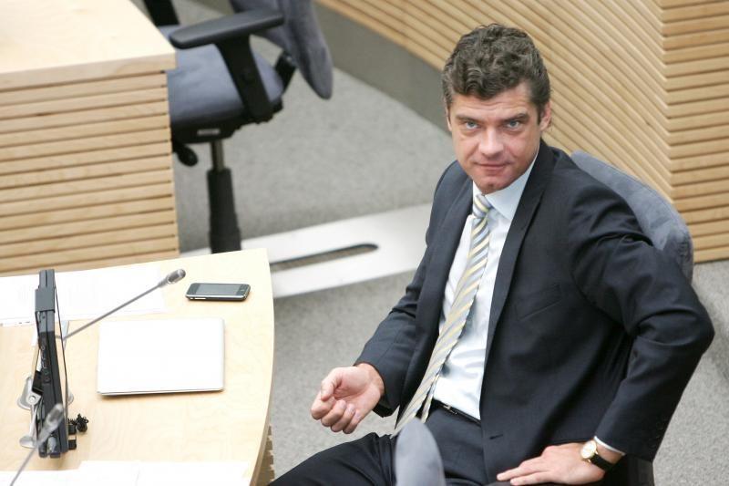 Ž.Šilgalis ir vėl keliavo be Seimo vadovybės žinios