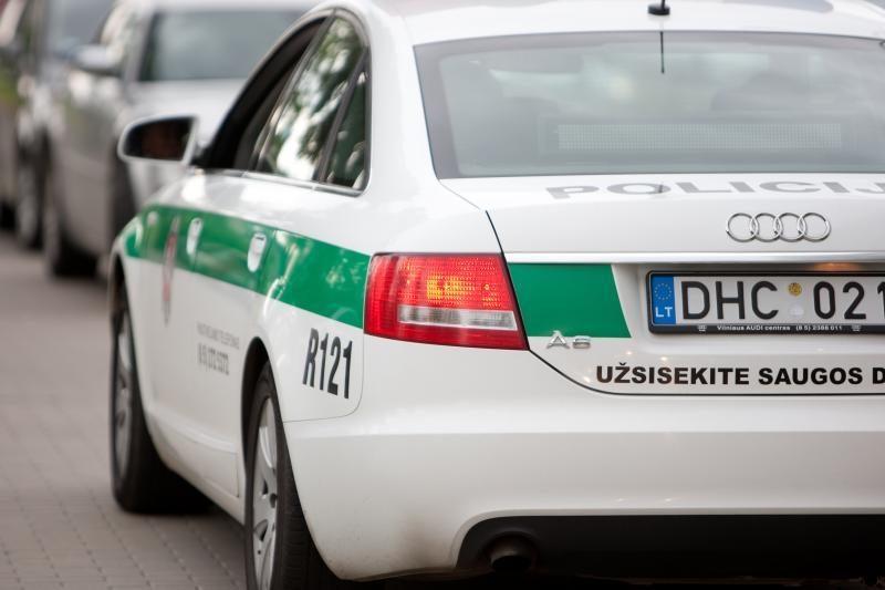 Utenoje pas sulaikytą vairuotoją rasta narkotikų