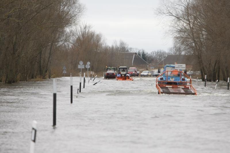 Lietuvoje rengiamas planas padėti potvynio ištiktiems gyventojams