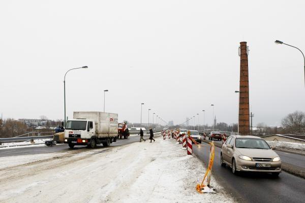 Mokyklos gatvės viadukas jau atidarytas (atnaujinta)
