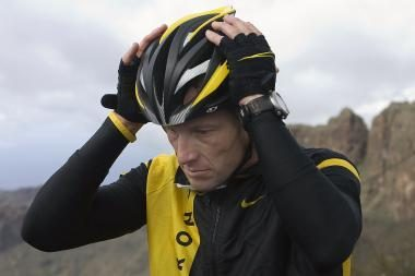 L.Armstrongas rengiasi naujam startui