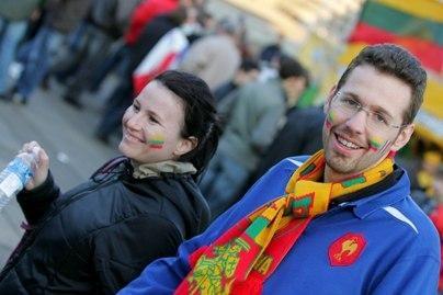 Lietuviai didžiuojasi savo valstybe