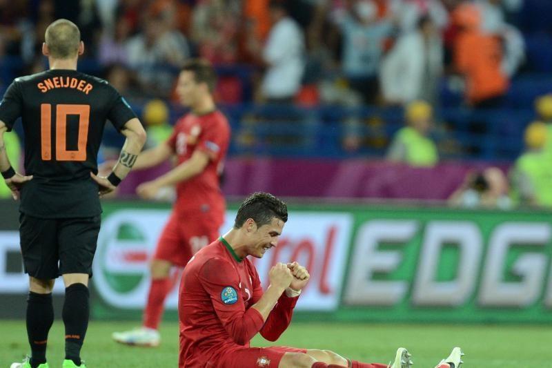 Vokiečiai ir portugalai – ketvirtfinalyje, olandai patyrė fiasko