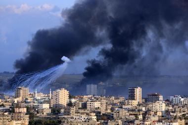 Gazoje - atokvėpis prieš naujus mūšius?