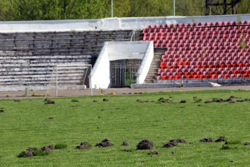 """""""Žalgirio"""" stadioną tvarkė ir futbolo aistruoliai"""