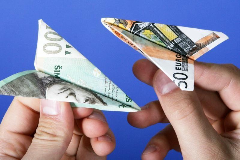 Klaipėdoje bandyta atsiskaityti netikrais pinigais