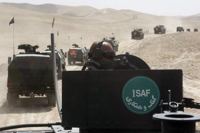 Afganistano Goro provincijoje dislokuotos ISAF greitojo reagavimo pajėgos