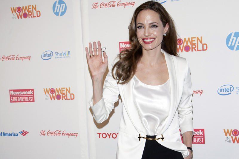 Angelina Jolie savo dukrelei parūpino vaidmenį filme