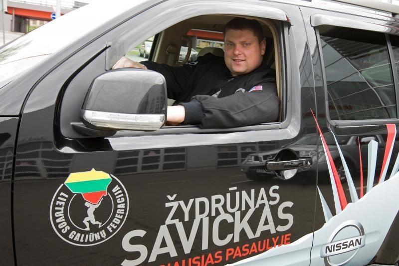 Ž. Savickas sieks naujo pasaulio rekordo