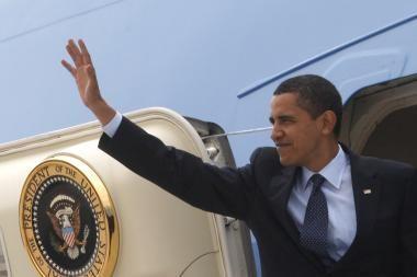 B.Obama sako negalįs lygiuotis su kitais Nobelio taikos premijos laureatais
