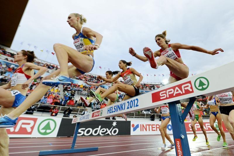 Europos lengvosios atletikos pirmenybių rikiuotėje Lietuva – 16-ta