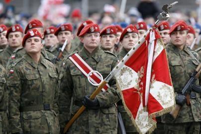 Iš lenkų kariuomenės bėga kariai