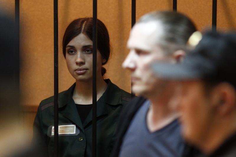 """Teismas atmetė kalinčios """"Pussy Riot"""" narės prašymą paleisti anksčiau"""