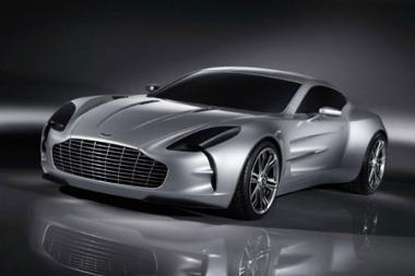 "Demaskuotas ""Aston Martin One-77"