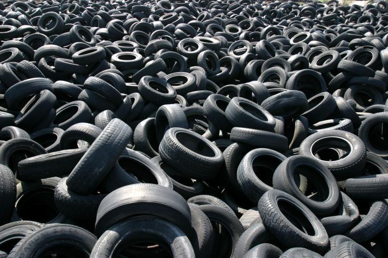 Kauno rajonas atsikratė 200 tonų automobilių padangų