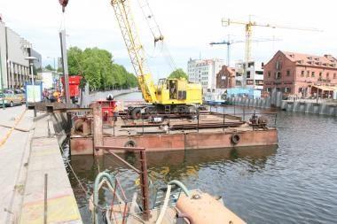 Laivelių savininkai žada stabdyti krantinių rekonstrukciją