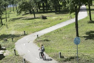Kelionės dviračiais: vienos dienos iškyla po Kauno apylinkes