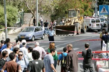 Jeruzalėje palestinietis nudūrė žydą