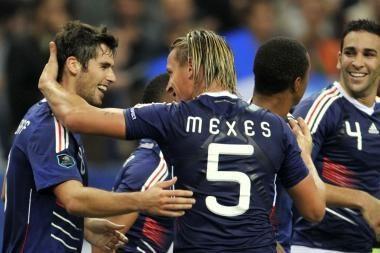 Prancūzijos futbolininkai įveikė rumunus