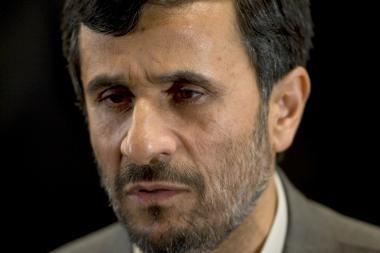 Irano vadovo kalba pasipiktinusios Vakarų delegacijos paliko Asamblėjos salę (papildyta)