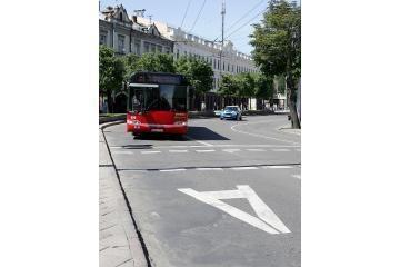 Dažyti gatves trukdo motociklininkai