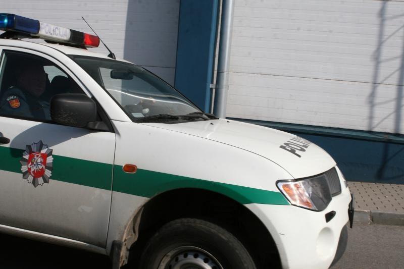 Klaipėdoje pavogtas apynaujis automobilis