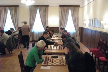 Elitinis Kauno šachmatų klubas suklupo namuose
