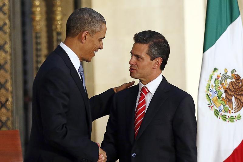 B. Obama - už bendradarbiavimą su Meksika dėl prekybos ir narkotikų
