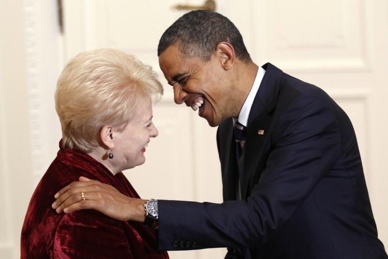 Lietuvos prezidentės vizitai drieksis nuo JAV iki Ukrainos