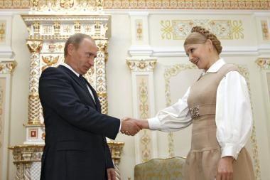 J.Tymošenko rado su V.Putinu bendrą kalbą
