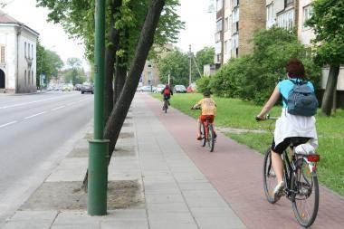 Klaipėdoje – praktinis dviračių takų išbandymas