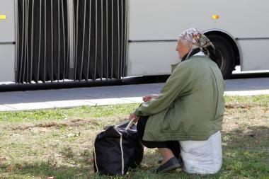 Kol garbaus amžiaus moterys