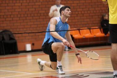 K.Navickas suklupo tarptautinio badmintono turnyro finale