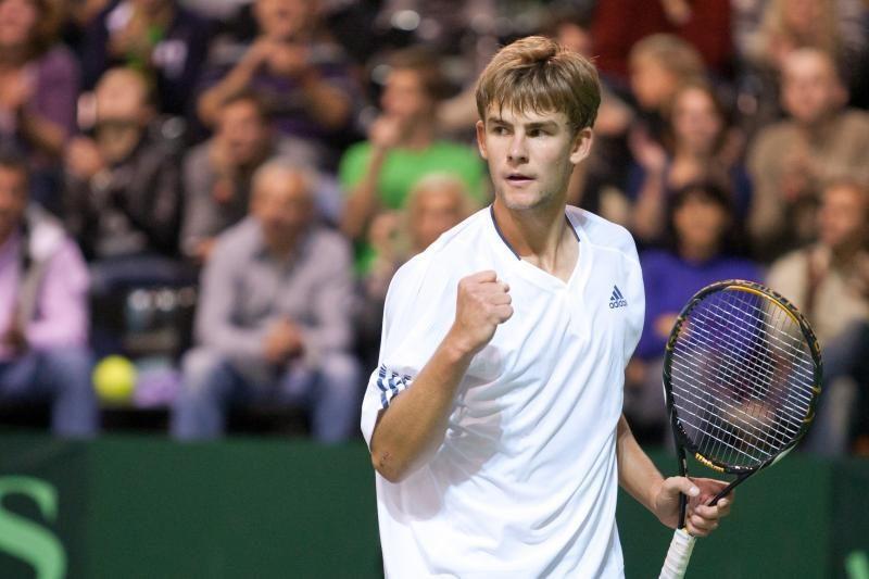 L. Grigelis ITF serijos teniso turnyrą Šveicarijoje pradėjo pergale