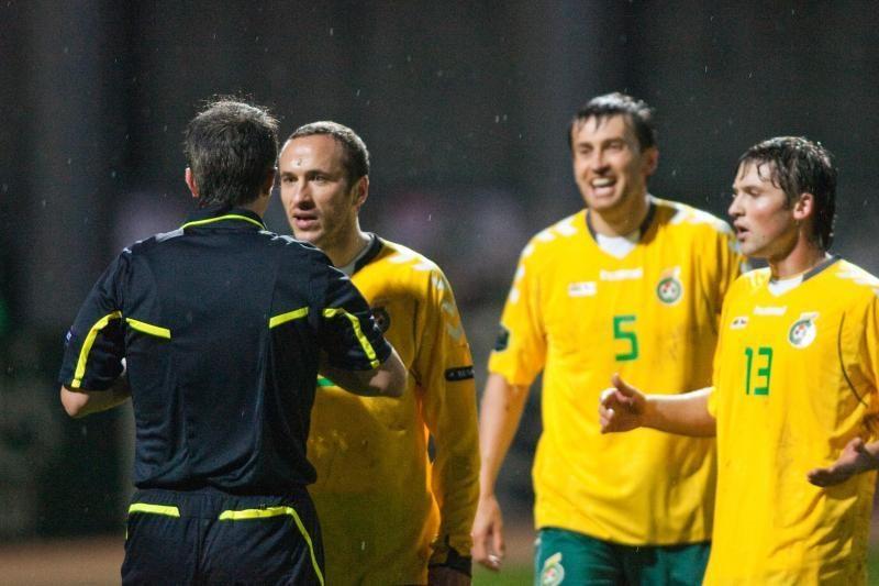 Dugnas: Lietuvos rinktinė FIFA reitinge nusirito į 119-ąją poziciją