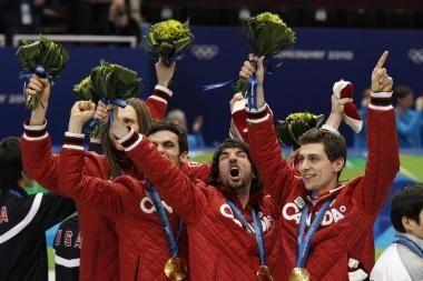 Kanados olimpiečiai tapo Vankuverio olimpiados lyderiais komandų rikiuotėje