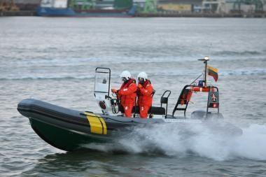 Pramogautojai į jūrą išplaukė be dokumentų