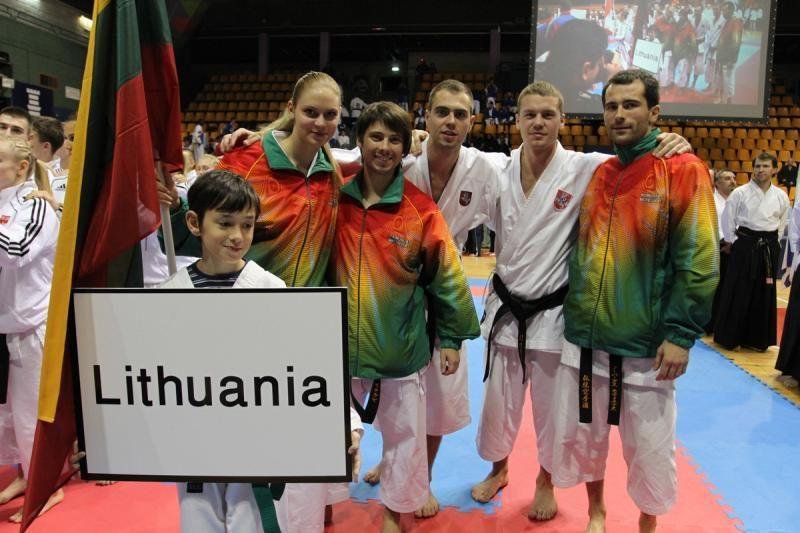 Iš Europos tradicinio karate čempionato – 4 bronzos medaliai