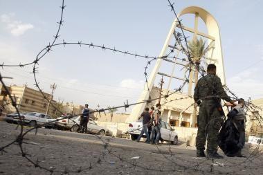 Irake per užminuoto automobilio sprogimą žuvo 12 žmonių, sužeista 30
