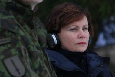 R. Juknevičienė: Lietuva gali nebepajėgti būti NATO nare