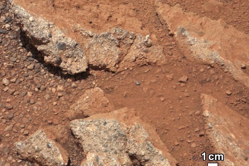 """""""Curiosity"""" Marse atrado kadaise tekėjusios upės vagą"""