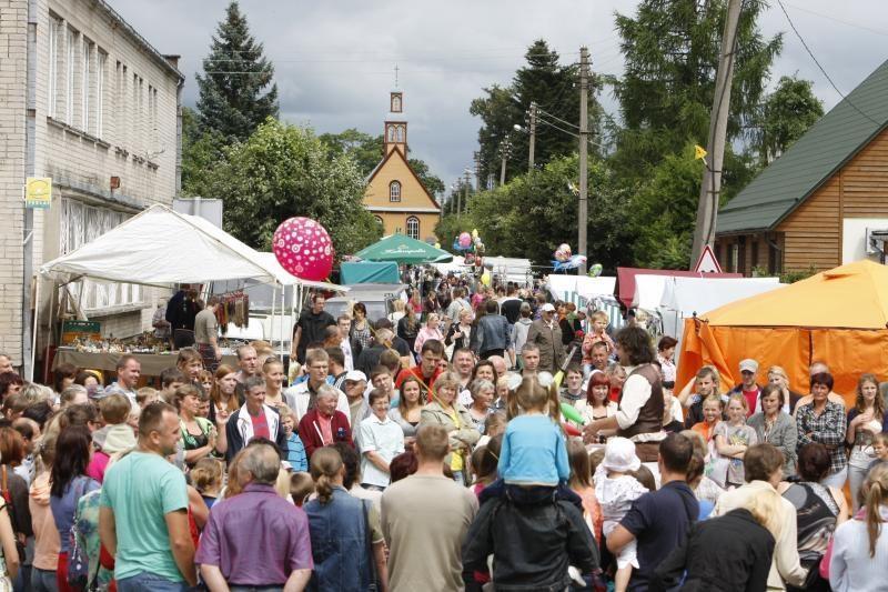 Veiviržėnai šventė 500 metų miestelio gimtadienį