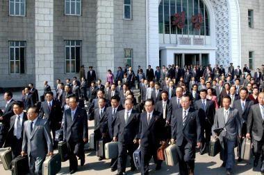 Šiaurės Korėjoje išmušė permainų valanda