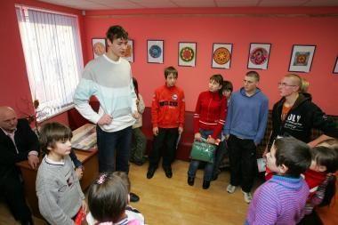 Kaišiadorių vaikams - krepšininkų dovanos
