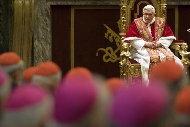 Popiežius ragina gelbėti pasaulį nuo gėjų