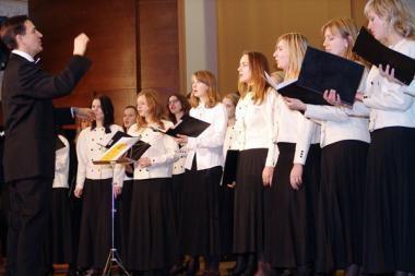 Dainavimas chore – naudingas sveikatai