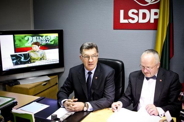 Partijų gretos gausėja: Lietuvoje daugiausia socialdemokratų