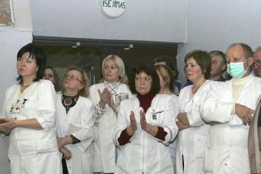 2-ojoje ligoninėje - sukilimas prieš reformą
